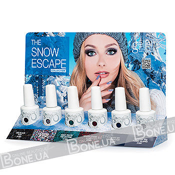 Gelish The Snow Escape 6 pc Collection