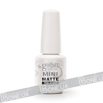 Gelish MINI Matte Top-It-Off Soak Off Gel Sealer 9 мл