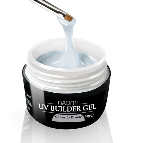 UV Builder Gel Clear 1-Phase 14 г