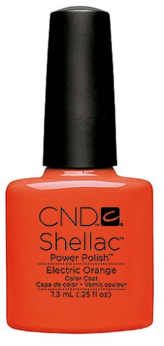 Shellac Electric Orange 7,3 мл