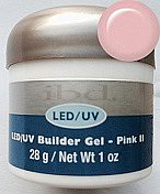 LED/UV Builder Gel  Pink II  28 г