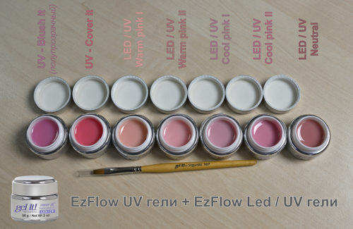 LED/UV Cover it!, Warm Pink II 56 г
