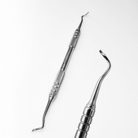 Curette Two-Sided ЛВ-05
