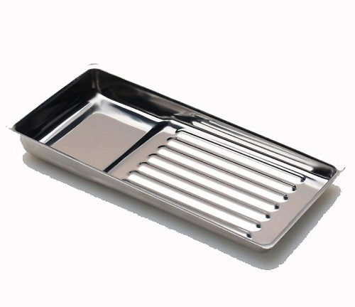 Tray stainless steel for cosmetology 195х90 мм