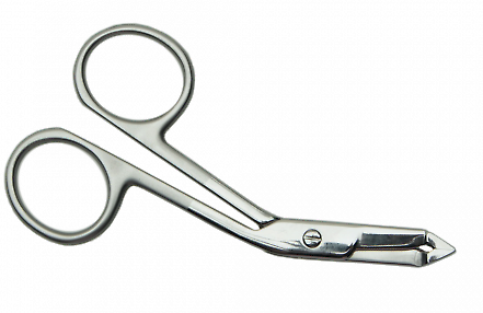 Tweezers-Scissors for Eyebrow ПН-01