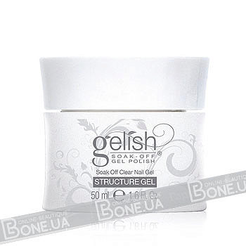 Gelish structure soak off clear gel 50 мл