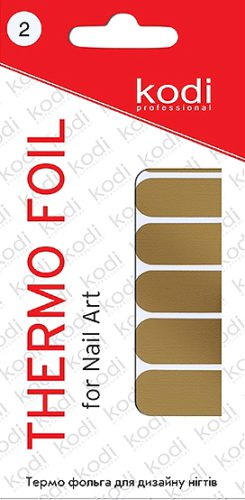 Thermo foil for nail art №2
