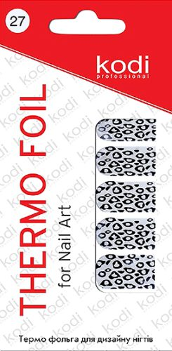 Thermo foil for nail art №27