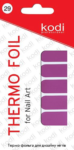 Thermo foil for nail art №29