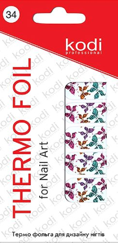 Thermo foil for nail art №34