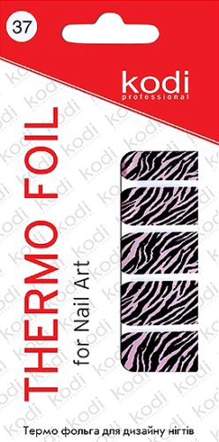 Thermo foil for nail art №37
