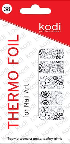 Thermo foil for nail art №38