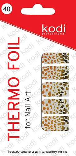 Thermo Foil For Nail Art №40