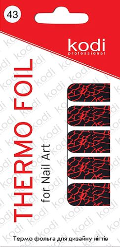 Thermo foil for nail art №43