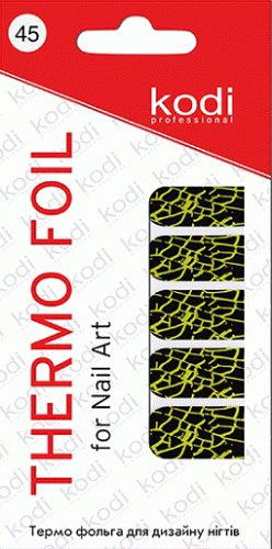 Thermo foil for nail art №45