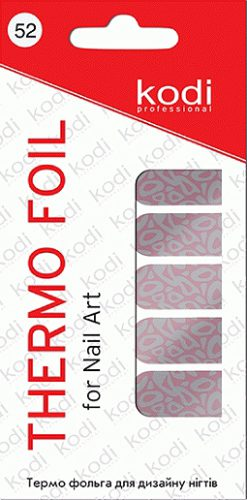 Thermo foil for nail art №52
