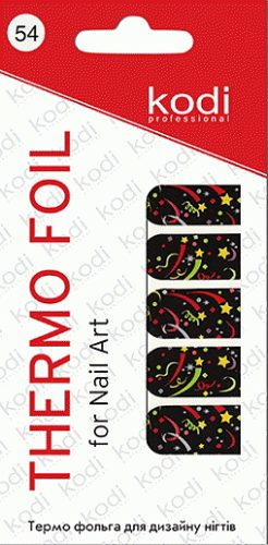 Thermo foil for nail art №54