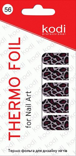 Thermo foil for nail art №56
