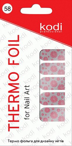 Thermo foil for nail art №58