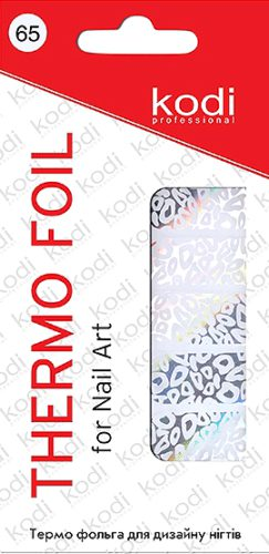 Thermo foil for nail art №65