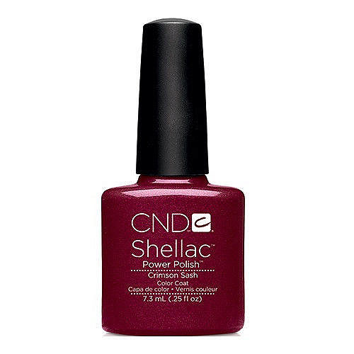 Shellac Crimson Sash 7,3 мл