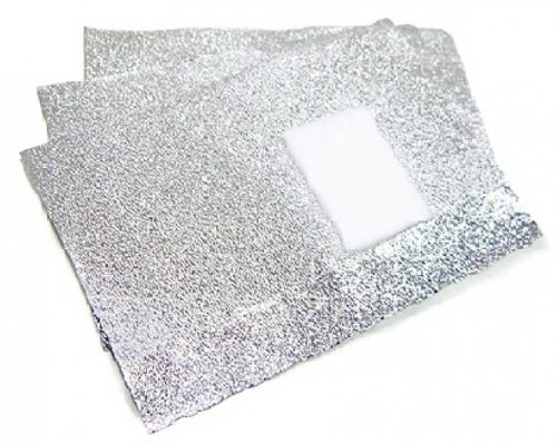 Foil for acryl and gel polish removal 10*10 шт