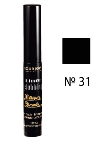 Liner Clubbing Ultra black №31 4 мл