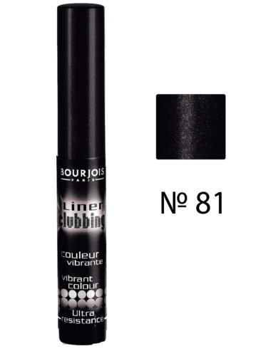 Liner Clubbing black  №81 4мл