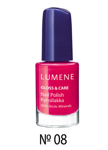 Gloss and Care Nail Polish №08 5 мл