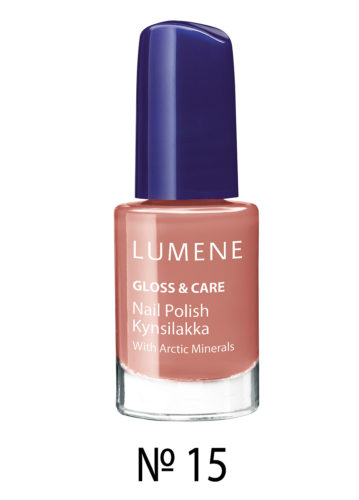 Gloss and Care Nail Polish №15 5 мл