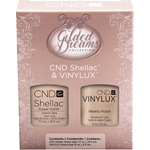 SHELLAC & VINYLUX Duo Grand Gala Gilded Dreams 2014