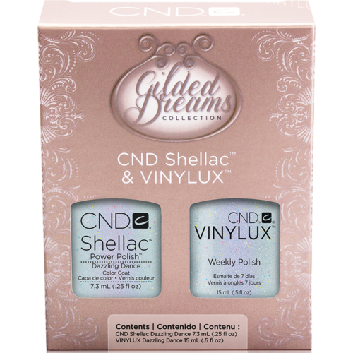 SHELLAC & VINYLUX Duo Dazzling Dance Gilded Dreams 2014