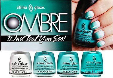 OMBRE Wait teal you see!