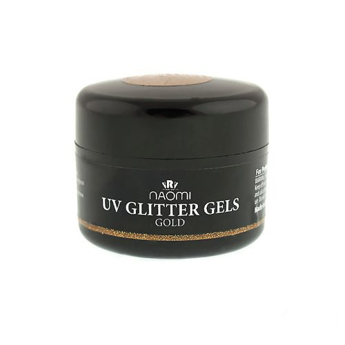 UV Glitter Gel Gold 14 гр