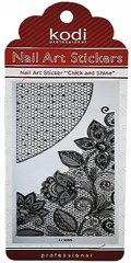 Nail Art Stickers LC055 Black