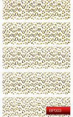 Nail Art Stickers BP003 Gold