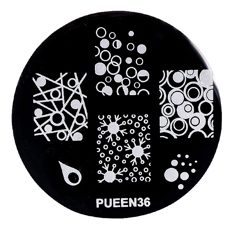 Disk for stamping Pueen № 36