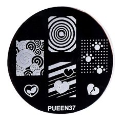 Disk for stamping Pueen № 37
