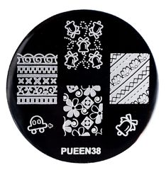 Disk for stamping Pueen № 38