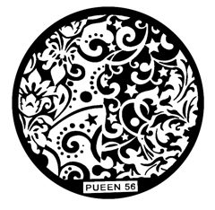 Disk for stamping Pueen № 56