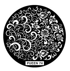 Disk for stamping Pueen № 74