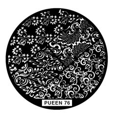 Disk for stamping Pueen № 76