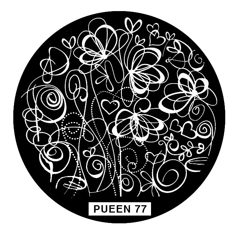 Disk for stamping Pueen № 77