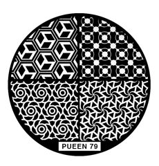 Disk for stamping Pueen № 79