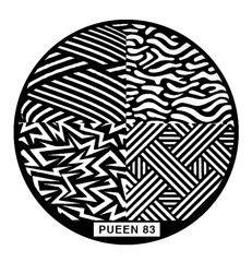 Disk for stamping Pueen № 83