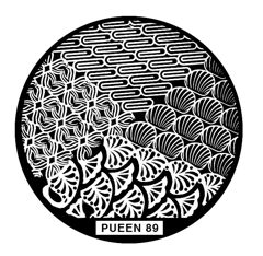 Disk for stamping Pueen № 89