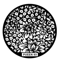 Disk for stamping Pueen № 93