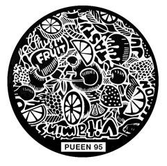 Disk for stamping Pueen № 95
