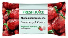 Cosmetic Soap Strawberry and Cream 75 гр