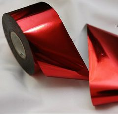 Foil for molding red 46см